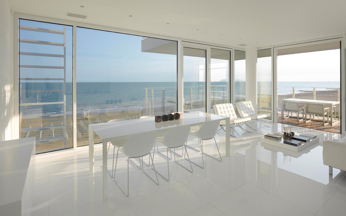 the beach houses jesolo interiors