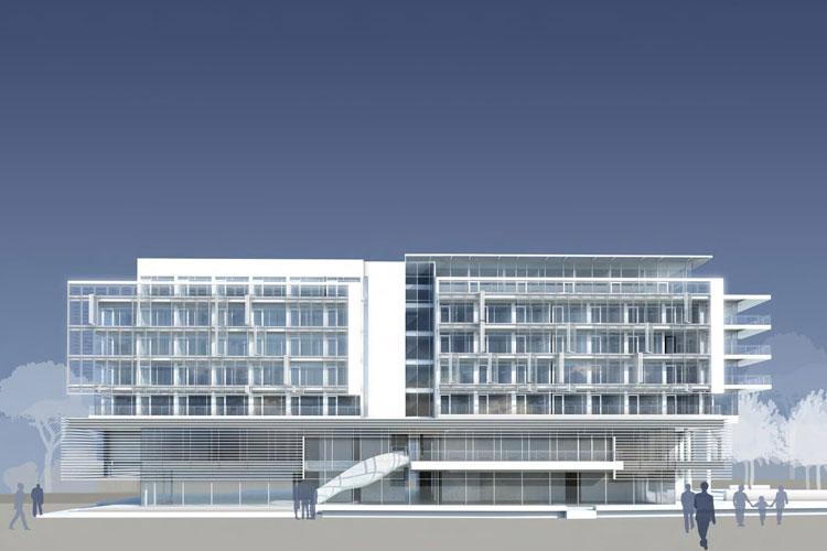 Jlv A Five Star Hotel Amp Spa By Richard Meier Amp Jesolo Immobiliare S R L