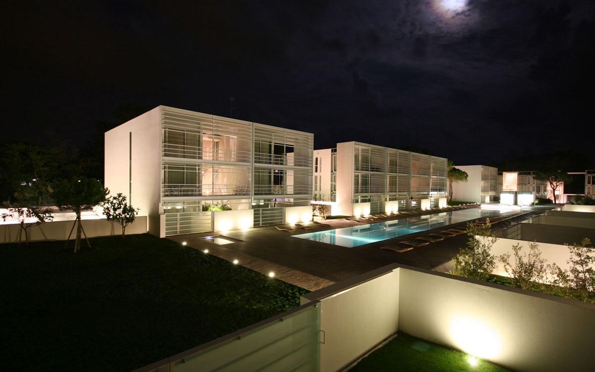 Jesolo Immobiliare S R L Amp Richard Meier Discover The Pool Houses Jesolo