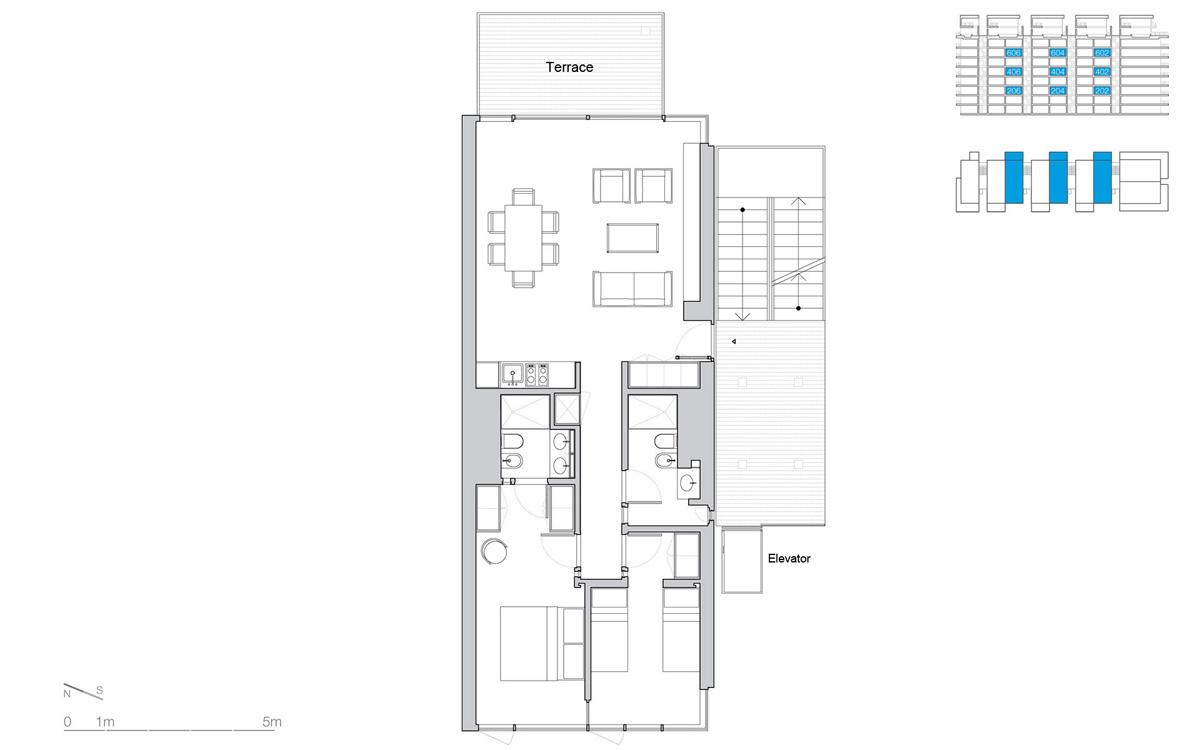 The Beach Houses In Jesolo Lido Village By Richard Meier